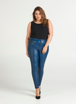 Coated Amy-jeans