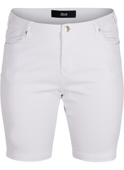 Slim fit Emily shorts med normal talje