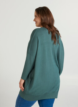 MCarrie, LS, Knit tunic