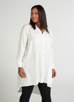 lange blouse in viscose