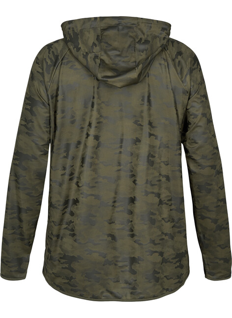 Trainingsjacke mit Camouflageprint