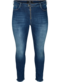 Cropped Nille jeans with frayed edges
