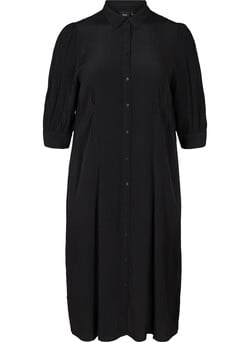 Viscose shirt dress