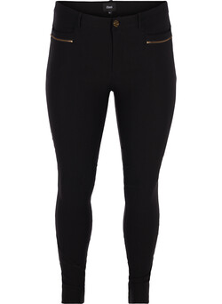 Slim fit bukser med stretch