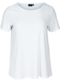 T-shirt met broderie anglaise