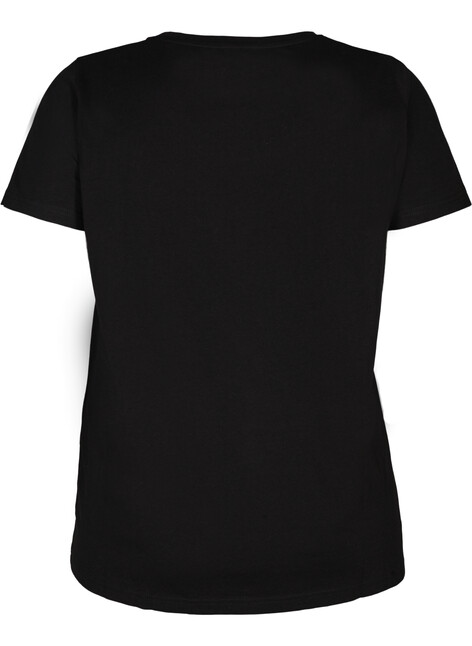 Katoenen t-shirt met klinknagels