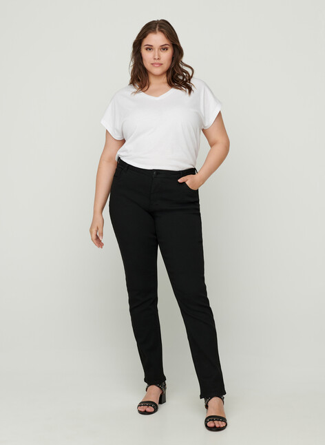 Stay black slim fit Emily jeans