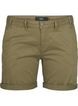 Regular Fit Shorts aus Baumwolle
