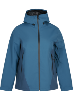 Waterproof hooded ski jacket