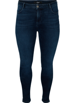 Super slim fit Amy jeans met hoge taille