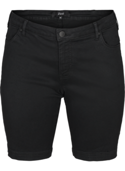 Slim fit Emily shorts med normal midje