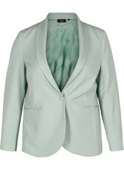 Classic blazer with shoulder pads