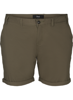 Regular fit shorts met zakken