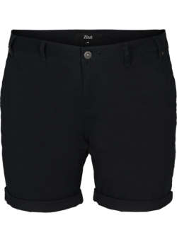 Shorts i regular fit med fickor