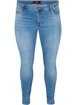 Extra slim fit Nille jeans met hoge taille