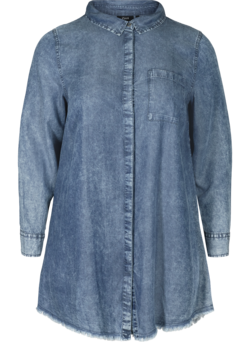Lange blouse in lyocell