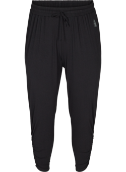 Pantalon de fitness ample en viscose