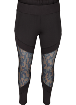 Cropped trainingsbroek met print