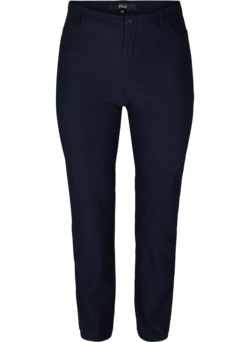 Regular Fit-Hose mit hoher Taille