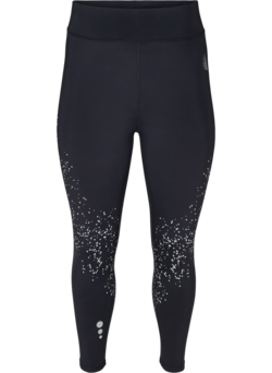Cropped sportlegging met reflectoren