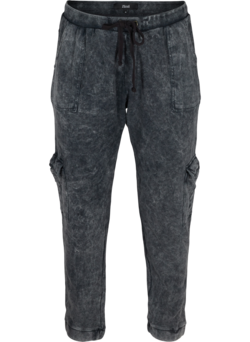 Acid wash broek in katoenmix