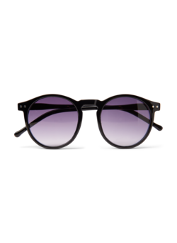 Sunglasses with round lenses